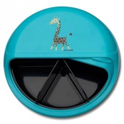 Snackdisc Girafe turqoise