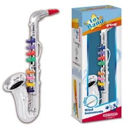 Saxophone argenté 8 tons