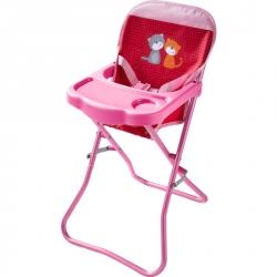 Chaise haute Pré fleuri