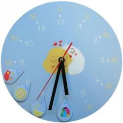 Horloge d'apprentissage magnétique