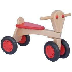 Trotteur en bois rouge