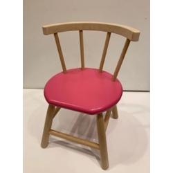 Chaise en bois rose