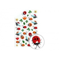 Cooky stickers - Coccinelles