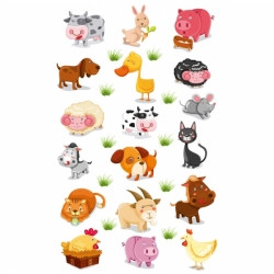 Cooky stickers - Ferme