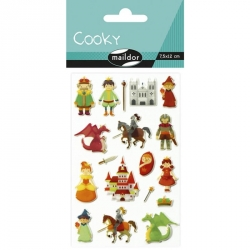 Cooky stickers - Chevaliers