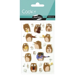 Cooky stickers - Hamsters