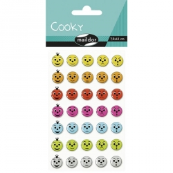 Cooky stickers - Smiley