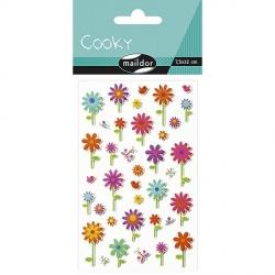 Cooky stickers - Fleurs
