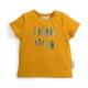 T-shirt curry imprimé plumes Zack 18 mois