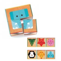 Cubes animaux Cuba basic