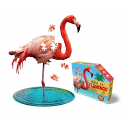 Puzzle I am - Flamant rose