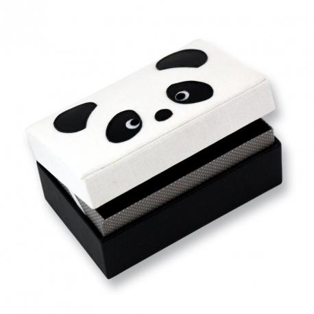 Boîte à bijoux panda