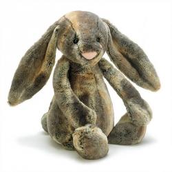 Bashful - Lapin assis gris Small
