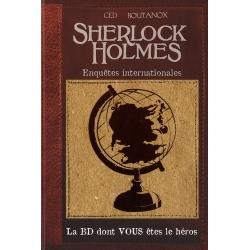BD jeu Sherlock Holmes - Enquête internationales