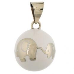 Bola blanc éléphant
