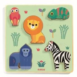 Puzzle relief - Emilion