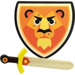 Set bouclier et épée - Lion