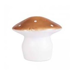 Lampe champignon moyen cuivre