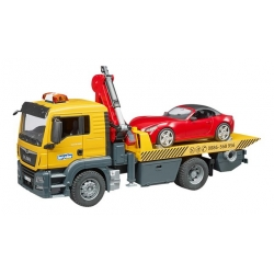 Bruder - Camion Man TGS avec voiture