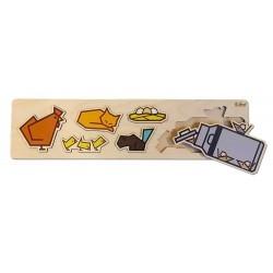 Pluzzle Cubey - Ferme