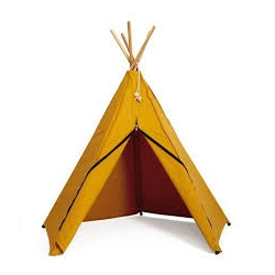Roommate - Tente hippie tipi ocre