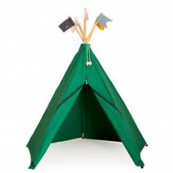 Roommate - Tente hippie tipi vert