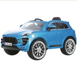 Voiture électrique 12V RC Porsche Macan bleue