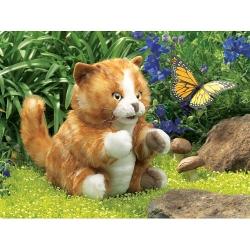 Marionnette Chat roux