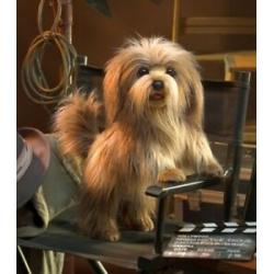 Marionnette chien hirsute