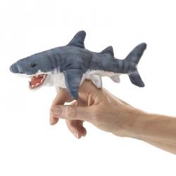 Marionnette à doigt requin