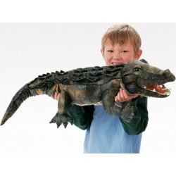 Marionnette Alligator