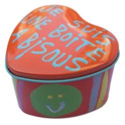 Boîte à bisous orange