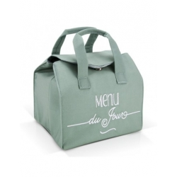 Lunch bag isotherme rvert - Menu du jour