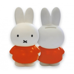 Mini tirelire Miffy orange