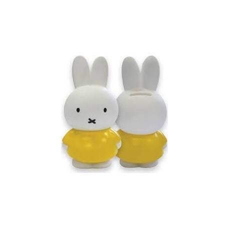 Mini tirelire Miffy jaune