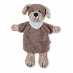 Marionnette chien brun