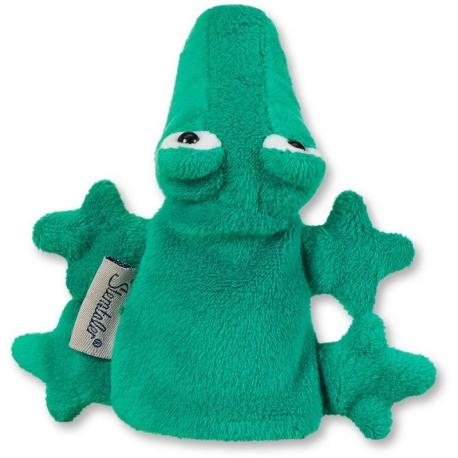Marionnette à doigt crocodile