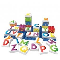 BioBuddi - Coffret 36 blocs lettres +1 plaque