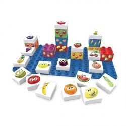 BioBuddi - Coffret 27 blocs fruits +1 plaque