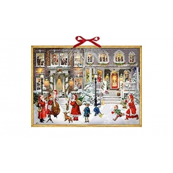 Calendrier de l'avent - Temps de Noël magnifique