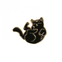 Pin's chat - Sorcière