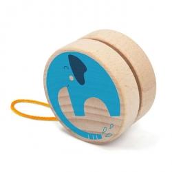 Yoyo en bois - Eléphant