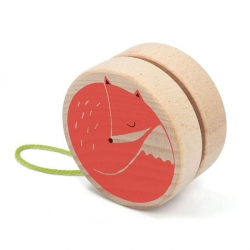 Yoyo en bois - Renard