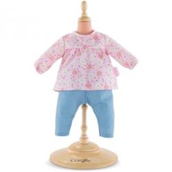 Vêtement Blouse & Pantalon Bébé 36cm