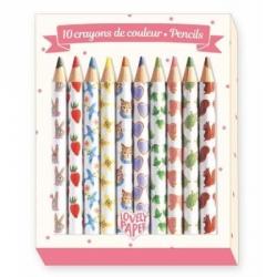 Crayons 10 couleurs