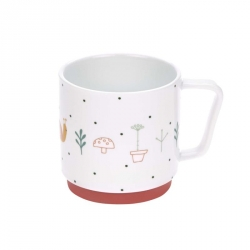 Tasse en porcelaine Explorateur du jardin rouge
