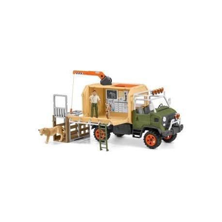 Ambulance de la jungle Schleich