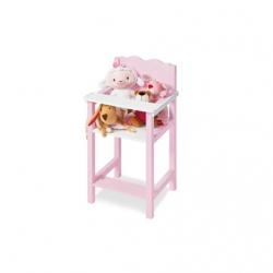 Chaise haute pour poupée jasmin