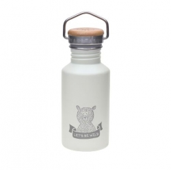 Bouteille thermos Aventure ours - gris
