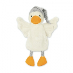 Marionnette oie blanche